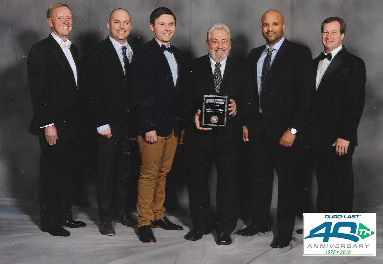 Watertite Roofing wins Elite Contractor Award from Duro-Last