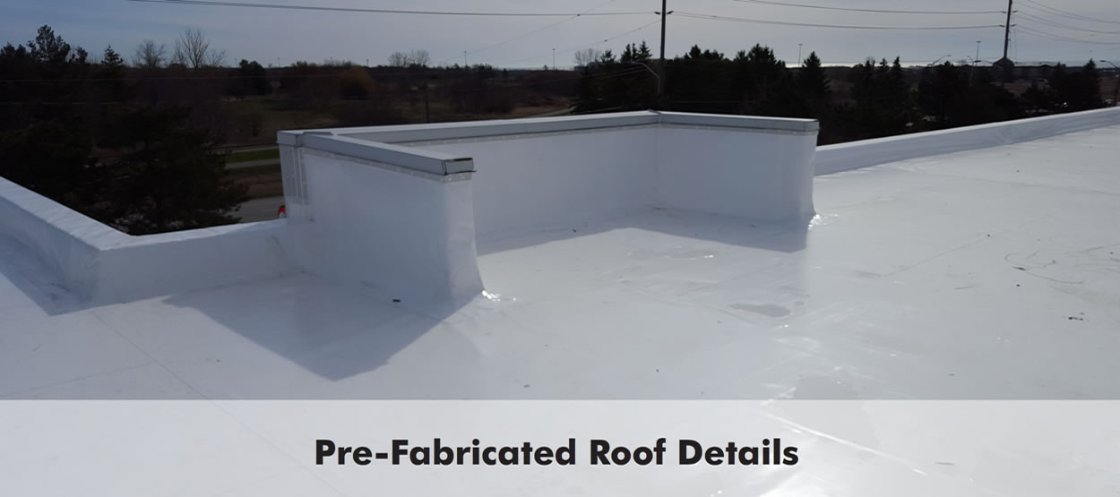 Pre-Fabricated Roof Detail
